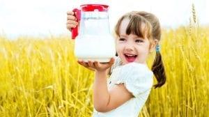 שבועות, ביכורים, חלב, ילדה, שדה שיבולים