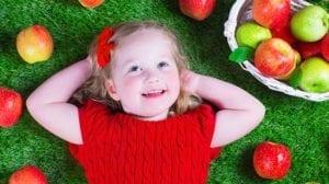 ילדה, סל תפוחים, ראש השנה, חגי תשרי